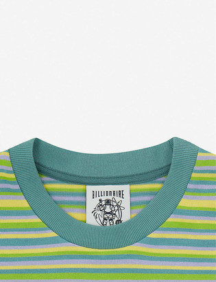 Billionaire Boys Club Striped cotton-knit T-shirt