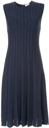 CASASOLA Pleated Stretch-Knit Dress
