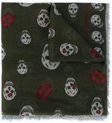 Alexander McQueen 'Skull Kisses' scarf
