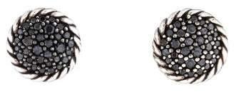 David Yurman Black Diamond Petite Pavé Earrings