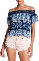 Rip Curl Dream On Off-the-Shoulder Shirt