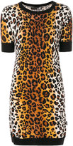 Love Moschino leopard print knitted dress