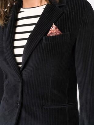 Circolo 1901 Corduroy Single-Breasted Blazer