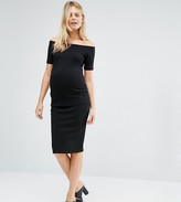 New Look Maternity Bodycon Midi Skirt