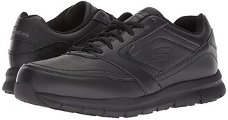 Skechers Nampa (Black) Men's Lace up casual Shoes