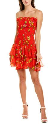 Caroline Constas Lola Silk Mini Dress