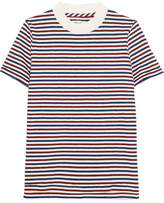 Madewell Striped Cotton T-shirt - Brown