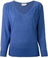 Moncler cropped boxy sweater - women - Cotton/Viscose - S