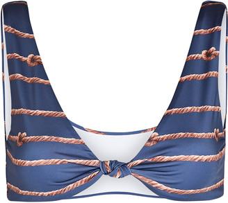 VERDELIMON Amazonas Knotted Bikini Top