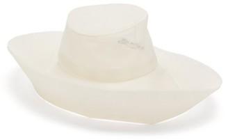 Stephen Jones Radiance Asymmetric Faux-pearl Tulle Hat - Ivory