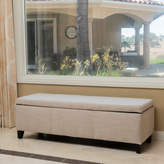 Latitude Run Connie Storage Ottoman Upholstery