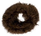 Hache Brown Fur Collar w/ Tags