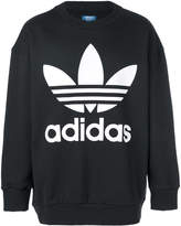 adidas logo sweater