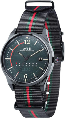 AVI-8 Red and Black Hawker Hurricane Watch