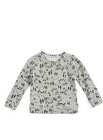 Tucker + Tate Infant Boy's Woodland Raccoon Print Top