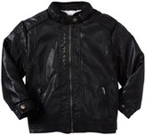 Buffalo Biker Jacket (Kid) - Black Pu-4