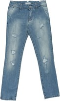 Paolo Pecora Denim pants - Item 42634971