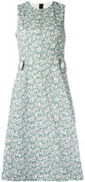 Marni Poplin Posy print dress - women - Cotton - 40