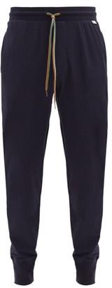 Paul Smith Drawstring-waist Cotton Pyjama Trousers - Navy