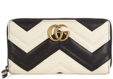 Gucci GG Marmont quilted-leather wallet