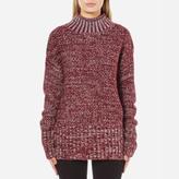 MinkPink Women's Perfect Timing Skivvy Sweatshirt