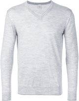 Eleventy V neck sweatshirt - men - Silk/Merino - M
