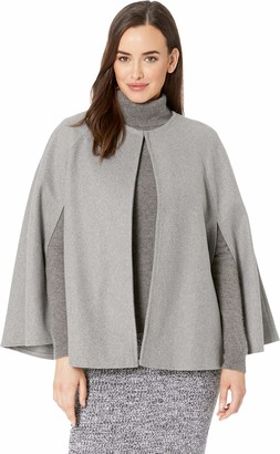 Collection XIIX Women's Crew-Neck Cape grey One Size