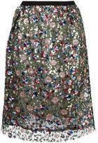 Odeeh sequined skirt