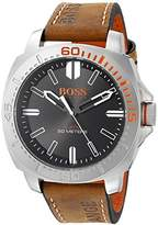 BOSS ORANGE Men's 1513294 Sao Paulo Analog Display Japanese Quartz Brown Watch by HUGO BOSS