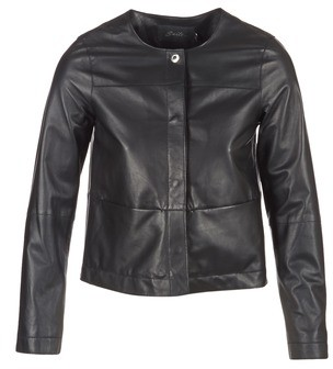 Oakwood 62254 women's Leather jacket in Black