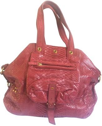 Jerome Dreyfuss Billy Burgundy Exotic leathers Handbags