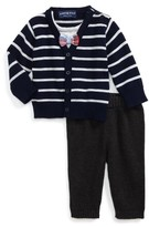Andy & Evan Infant Boy's Cardigan & Pants Set