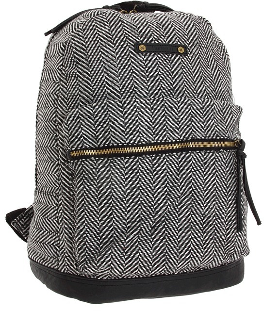 Hurley Market Backpack (Black/Grey) - Bags and Luggage
