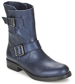 Unisa GORKA girls's Mid Boots in Blue