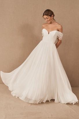Amsale Nouvelle Allemande Gown