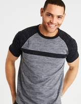 American Eagle Outfitters AE SHORT SLEEVE COLORBLOCK TEE
