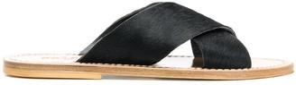Solange Crossover Strap Sandals