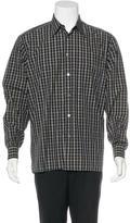 Ermenegildo Zegna Plaid Woven Shirt
