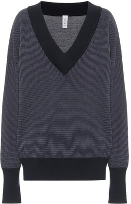 Varley Gower cotton-pique sweater
