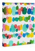 DENY Designs Deny Paradise Watercolor Dots 16 x 20 Canvas