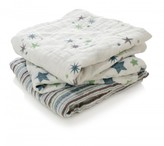 Aden Anais aden + anais Swaddle - Blue Stars - Pack of 3
