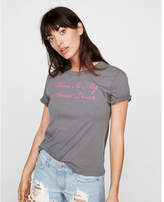 Express one eleven wine lover crew neck tee