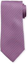 Neiman Marcus Italian-Made Whale-Print Silk Tie