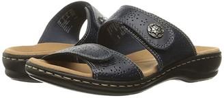 Clarks Leisa Lacole (Black Leather) Women's Sandals