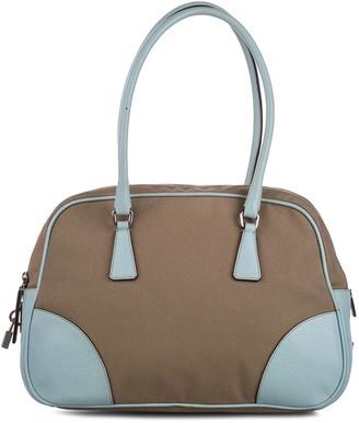 Prada Pre-Owned Panelled Shoulder Bag