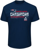 Majestic New England Patriots Super Bowl LI Champions Tee