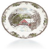 Johnson Bros. Friendly Village Oval Platter