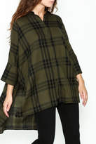Katherine Barclay Oversized Button Up Tunic
