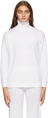 MAX MARA LEISURE Off-White Wool Lancia Sweater