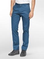 Calvin Klein One Slim Fit Zip Calvary Twill Pants
